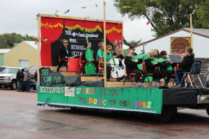 colome 4th grade float