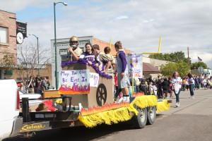 parade  jr class float