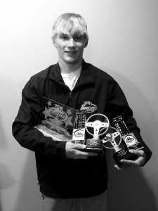 cameron biggins and race track trophies