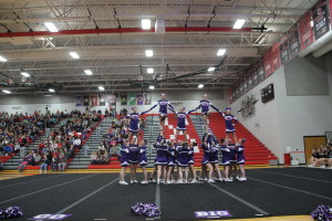 cheer pyramid at state