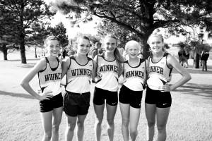 girls cc team 1st place