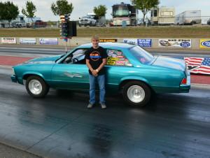 biggins car race winner