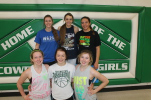 colome girls bb letterwinners