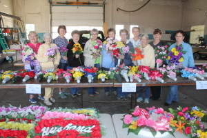 esa ladies and mem day flowers
