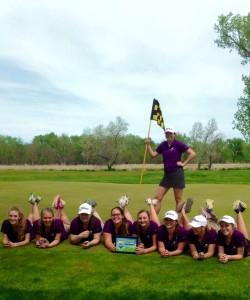 girls golf champs