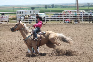 rodeo saige schuyler barrl race