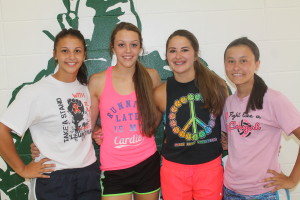 colome volleyball letter winners