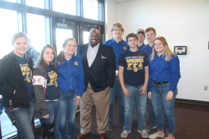 rigsby talk to winner ffa studets