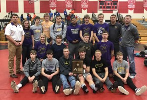 wrestlng region 3b champs