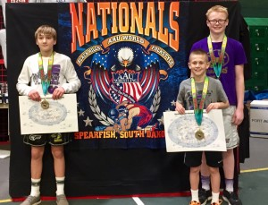 aau wrestlers placing