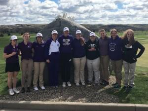 big dakota girls golf 1st