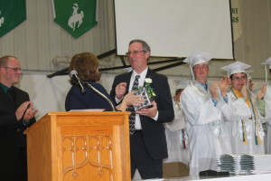 colome grad greg sherman retire gift