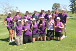 girls golf 1st place