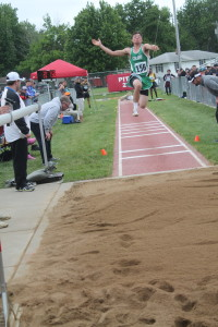 state track kelly in long jump