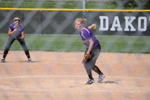 softball duffy pitch